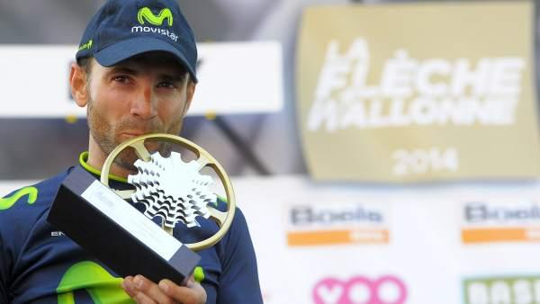 Alejandro Valverde gana la Flecha Valona 2014