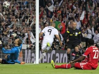 Gol de Benzema al Bayern
