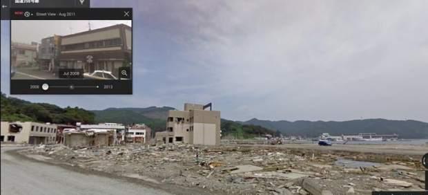 Google crea una 'cápsula del tiempo' para ver paisajes del pasado con Street View