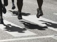 Corredores en un marat�n