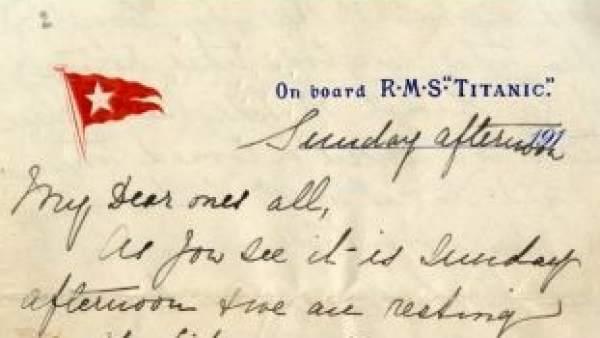 Carta del Titanic