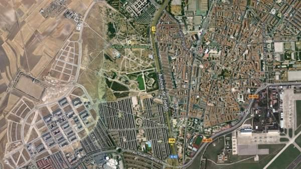 Avenida de la Libertad de Getafe