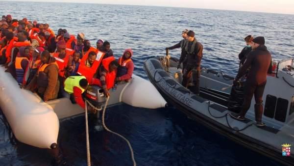 Inmigración en Italia