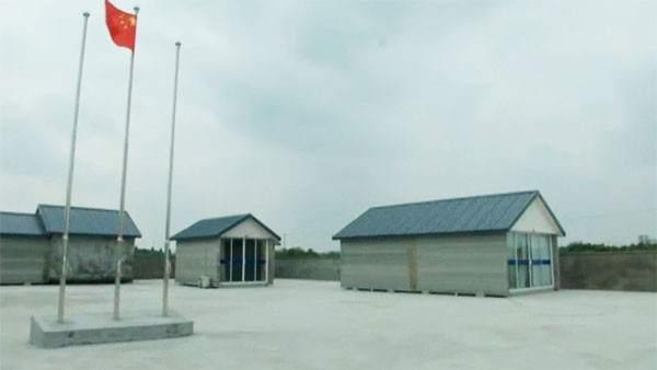 china construye casas en d foto