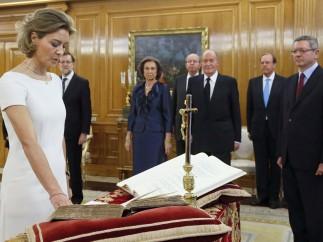 Tejerina jura su cargo ante el Rey
