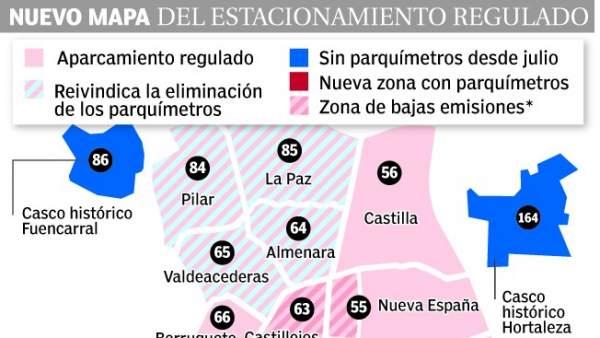 Mapa del SER de Madrid