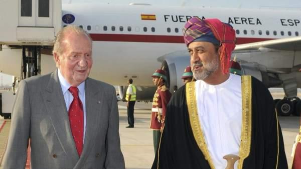 El rey Juan Carlos visita Omán