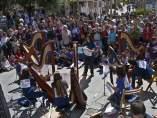 Protesta por la Escuela de Música y Danza de Las Rozas