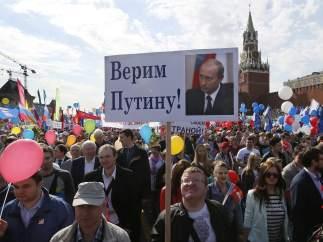 Unas 100.000 personas se manifiestan en Moscú