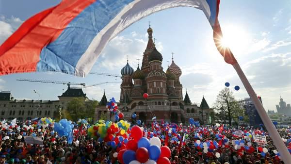 Marcha marcada por la crisis con Ucrania