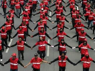 El Día del Trabajo en Indonesia