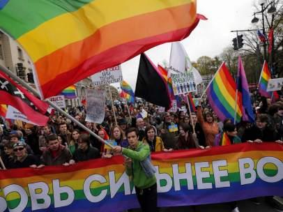 Activismo homosexual en Rusia