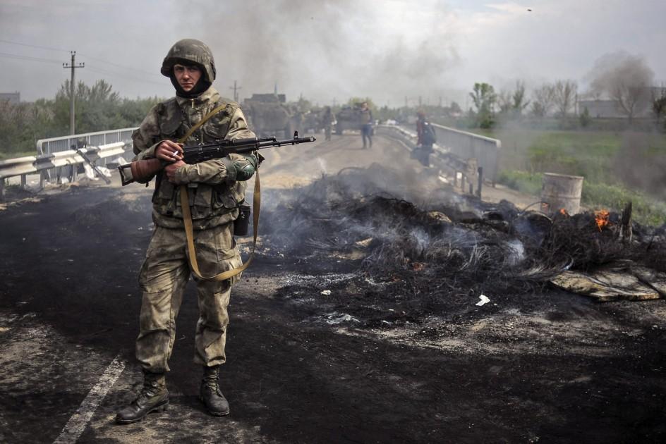 Operación ucraniana para recuperar la ciudad de Slaviansk