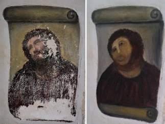 Eccehomo, antes y después