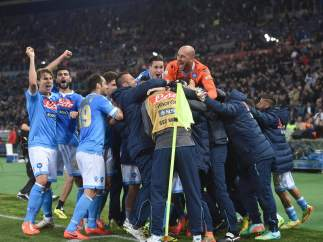 Nápoles, campeón de Copa