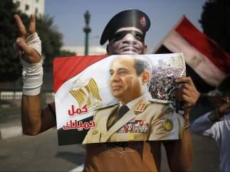 Al Sisi, favorito a las presidenciales