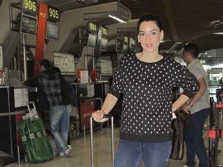 Ruth Lorenzo de camino a Eurovisión