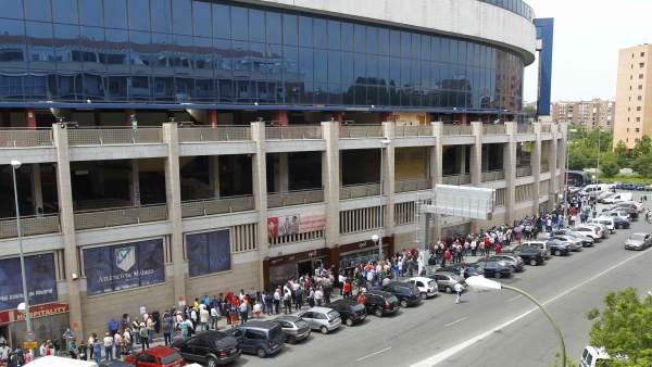 Aficionados en el Calderón