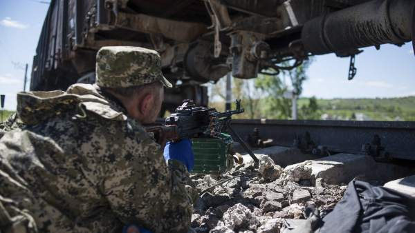 Combates en Slaviansk