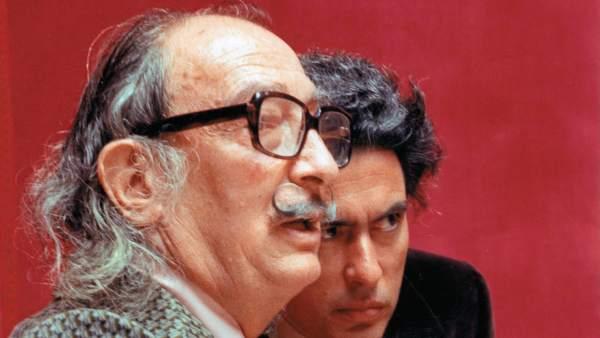 Dalí y Antonio Pitxot