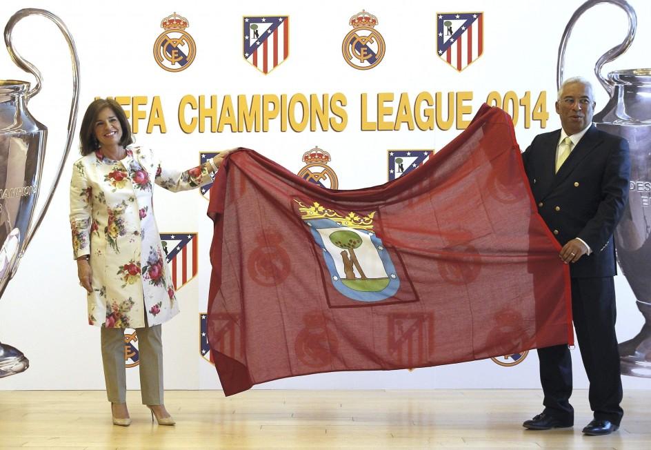 La bandera de Madrid ondeará en Lisboa