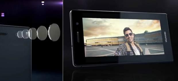 Ascend p7, un competidor de iPhone y Samsung pensado para 'selfies' de alta calidad