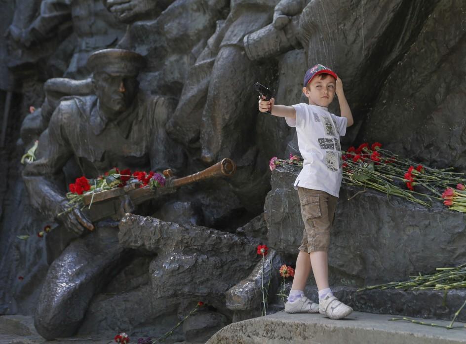 Ucrania celebra el Día de la Victoria