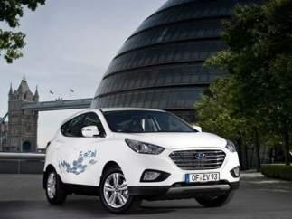 La Comisión Europea apoya la pila de combustible del Hyundai ix35