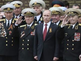 Putin visita Crimea por primera vez