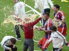 Jerome Boateng y Pep Guardiola