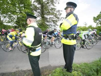 El Giro de Italia 2014, durante su tercera etapa en Irlanda