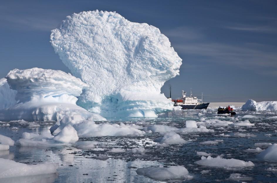 Los glaciales de la Antártida se derriten