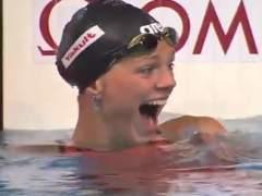 La nadadora rusa Yulia Efimova