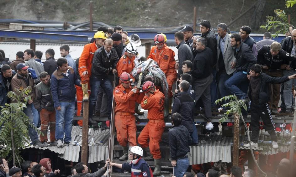 Tragedia minera en Turquía