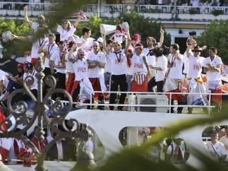 Sevilla, paseo en barco