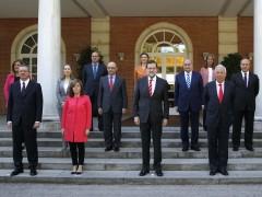 Rajoy preside la foto oficial del nuevo Gobierno