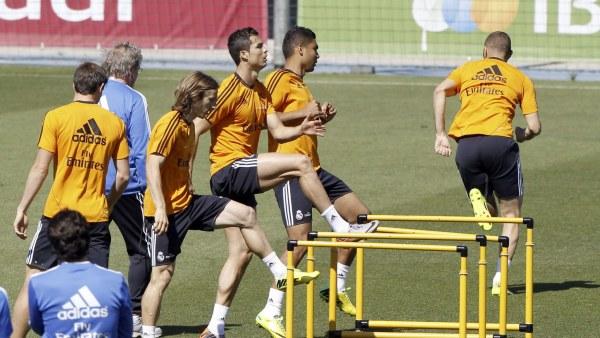 Cristiano Ronaldo y Modric