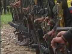 Imagen de archivo del alto el fuego de las FARC durante las elecciones de 2014.
