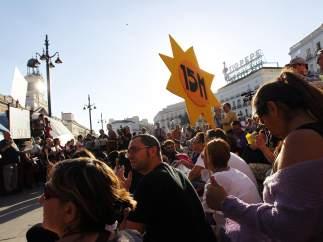 Asamblea en Sol tras la protesta