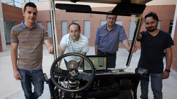 Un dispositivo para conducir sin conductor