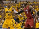 Los Pacers ganan a los Heat