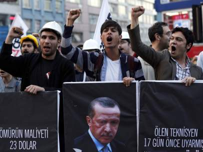 Accidente en una mina de Turquía