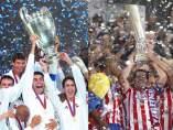 Real Madrid y Atlético en Europa