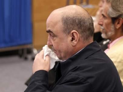 Rafael Chacón, fabricante del bio-bac, durante el juicio