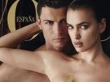 Cristiano Ronaldo e Irina Shayk en Vogue