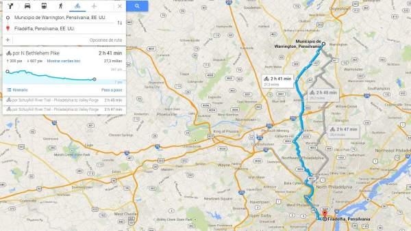 Google Maps incluye rutas para ciclistas