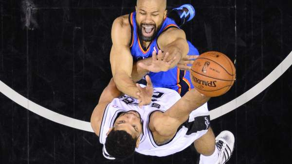 Finales del Oeste: Spurs-Thunders