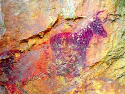 Encuentran arte rupestre en Villafranca (Castellón)