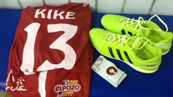 Kike Boned se retira