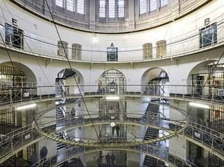 Interior de la prisión de Moabit, en Berlín